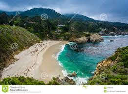 Point Lobos State Reserve Map by View Of Gibson Beach At Point Lobos State Natural Reserve In C