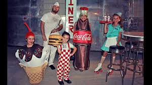 Coca Cola Halloween Costume Dress Family U0027s Group Halloween Costumes Abc