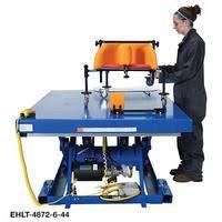 Hydraulic Scissor Lift Table by Vestil Electric Hydraulic Scissor Lift Tables Standard Ship