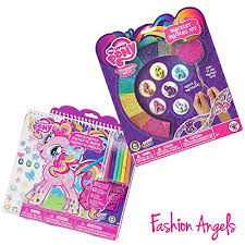 my little pony sketchbook and bracelet kit bundle office product
