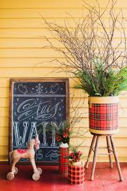 vintage and country holiday decor for a front porch hgtv