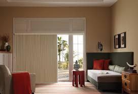 Blinds Ideas For Sliding Glass Door Giving Chic Touch Of Curtain For Sliding Glass Door