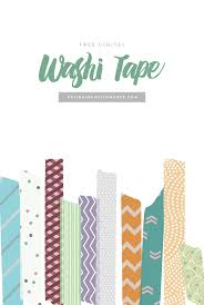 washi tape designs free digital washi tape designs by miss mandee