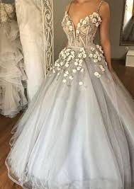 silver wedding dresses chic wedding dresses spaghetti straps silver beading tulle