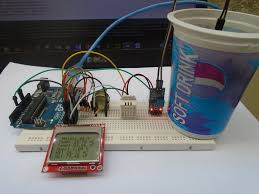 diy arduino weather station using nokia lcd display