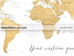 Sudan On World Map by Printable Personalized World Map With Countries Us States