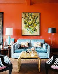 Orange Living Room Chairs by Decorating With Orange How To Incorporate A Risky Color Tastefully