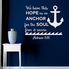 bible quotes wall decal we have this hope as an anchor for the zoom