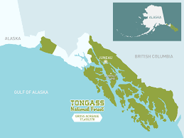Sitka Alaska Map by Fortress Of The Bears Map Of The Tongass Nature Pbs