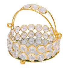 Items For Home Decoration Special Dealz Items For Home Decoration New Basket Brass Crystal