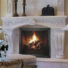 how to choose a fireplace screen northline express
