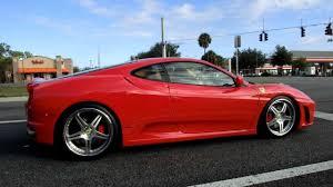 ferrari f430 custom ferrari f430 w custom rims acceleration on street 1080p youtube