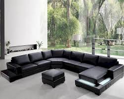 sofa contemporary leather sectional sofa couch and sofa set