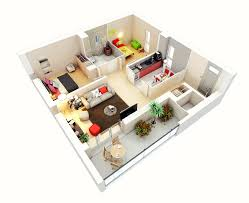 Two Bedroom House Floor Plans 25 Two Bedroom House Apartment Floor Plans Amazing Architecture