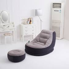 Intex Sofa Bed Inflatable Sofa Bed Single Creative Lazy Couch Seat Cute Recliner