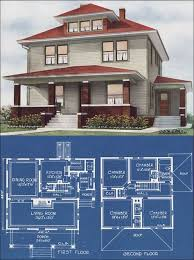 foursquare house plans favorite foursquare hwbdo10122 craftsman house plan from for