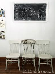 dining room chairs makeover 1915 house