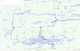 Great Loop Map Bwca Looking For A Great Loop Route Bwca Boundary Waters Trip