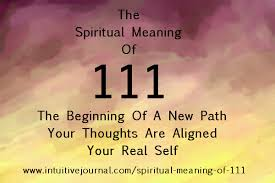 spiritual meaning of 111 intuitive journal number 111