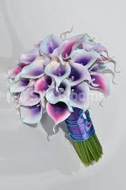 calla bouquet shop bright pink purple and aqua vermeer calla bridal