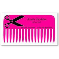 grunge purple butterfly scissors hair stylist spa business card
