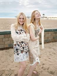 dakota fanning 4 wallpapers elle fanning u0026 dakota fanning u2013 photoshoot for vogue march 2017