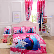 Girls Single Duvet Covers Frozen Bedding Set Selling 3d Printed 100 Cotton Children Bed