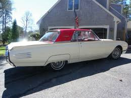 1961 Thunderbird Interior Seller Of Classic Cars 1961 Ford Thunderbird White Red Two