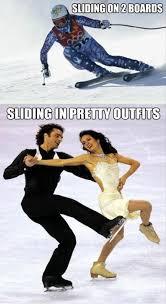 Figure Skating Memes - what winter olympic sports are really like strange beaver