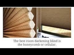 Best Room Darkening Blinds Best Blackout Blinds From Hunter Douglas For 2016 Youtube