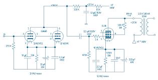 circuit diagram el 34 schematics valve amplifier circuit diagrams
