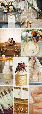 gold wedding decorations 50 trendiest gold wedding ideas glam
