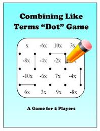 combining like terms lessons tes teach