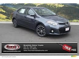 2014 toyota corolla le price 2015 slate metallic toyota corolla s plus 97228920 gtcarlot com