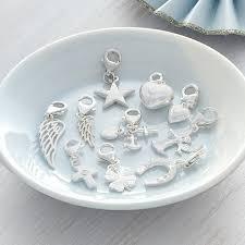 silver child charm bracelet images Girls sterling silver padlock charm bracelet by hurleyburley jpg