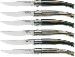 couteau opinel cuisine coffret de couteaux de table opinel