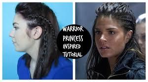 celtic warrior hair braids warrior princess braid octavia from the 100 youtube