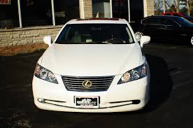 2007 lexus es350 white used sport sedan sale
