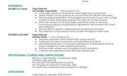yoga instructor resume caregiver resume samples the best resume