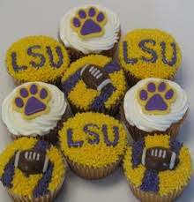 lsu tigers cupcakes lsu pinterest tiger cupcakes tigers and
