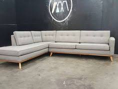 Modern Sofa With Chaise Mid Century Modern Sectional Chaise Sofa Chaise Sofa Mid