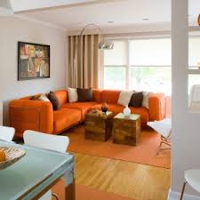 Orange Living Room Set Home Design Interesting Bedroom White Living Room With Orange