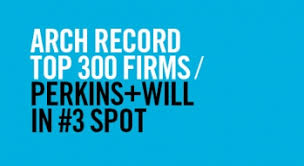 Top Architecture Firms 2016 Perkins Will Takes No 3 Spot On Architectural Record U0027s Top 300