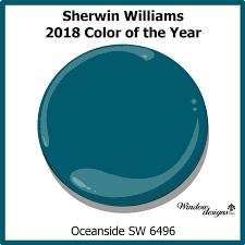 Sherwin Williams 2017 Colors Of The Year Sherwin Williams Oceanside 2018 Color Of The Year