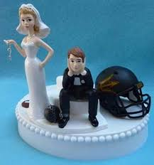 football wedding cake toppers wedding cake toppers college includes football and
