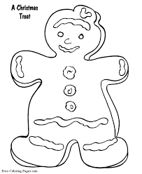 gingerbreadman coloring page pictures and sheets gingerbread man