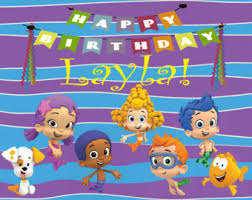 Bubble Guppies Birthday Decorations Pj Masks Cupcake Topper Free Birthday Sign Included
