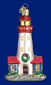 and white lighthouse ornament world lighthouse