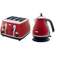 Red Kettle And Toaster 2011 01 02 Delonghi Kettle And Toaster