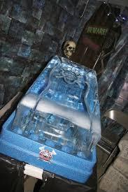 halloween ice luge ice luge pinterest ice luge